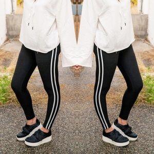 Pants - Athletic Stripe Leggings